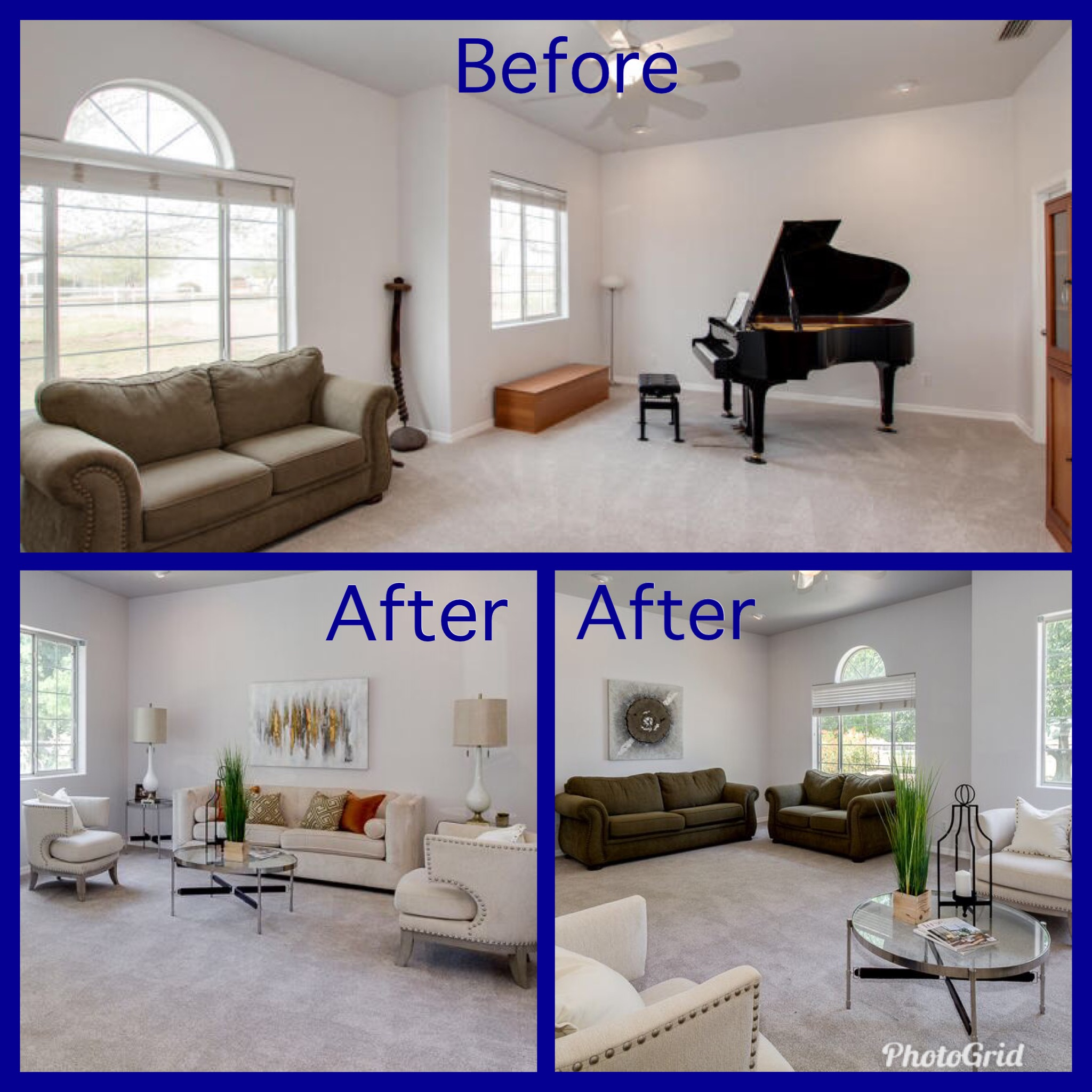 Home Staging Gallery: Before & After Home Staging!